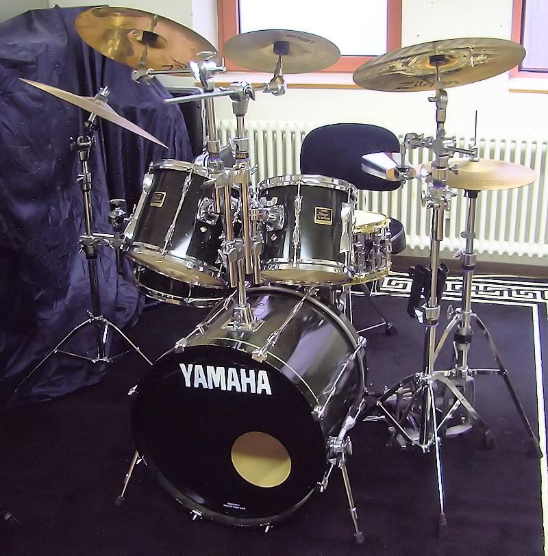 Yamaha Stage Custom Marina Green